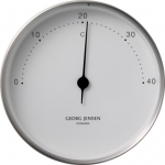 KOPPEL 10 CM THERMOMETER STAINLESS STEEL WITH WHITE DIAL 3587588