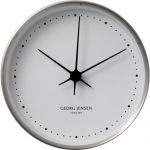 KOPPEL 10 CM WALL CLOCK, STAINLESS STEEL WITH WHITE DIAL 3587584