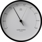 KOPPEL 10 CM BAROMETER, BLACK STAINLESS STEEL WITH WHITE DIAL БАРОМЕТЪР  3587526