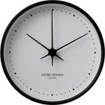 KOPPEL 10 CM WALL CLOCK, BLACK WITH WHITE DIAL ЧАСОВНИК  3587524