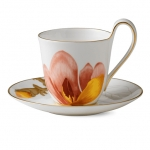 Flora High handle cup and saucer – Magnolia, 270 ml 1017548 ЧАША ЗА ЧАЙ