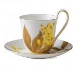 Flora High handle cup and saucer – Laburnum, 270 ml 1017542 ЧАША ЗА ЧАЙ