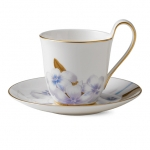 Flora High handle cup and saucer – Rhododendron, 270 ml 1017545 ЧАША ЗА ЧАЙ