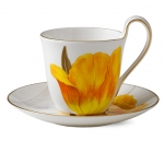 Flora High handle cup and saucer – Tulip, 270 ml 1017531 ЧАША ЗА ЧАЙ